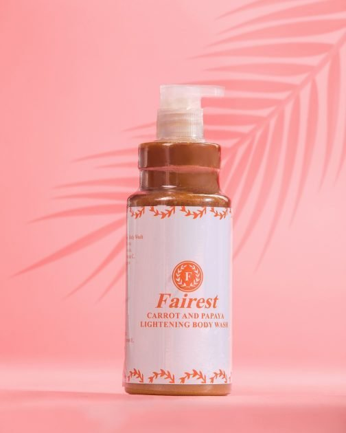 Fairest Carrot and Papaya Body Wash