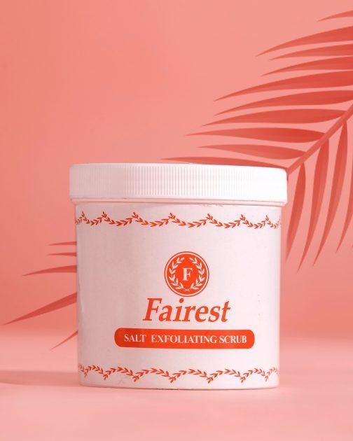 Fairest Body Salt Exfoliating Scrub